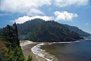 Beach View as seen from the Heceta Head Lighthouse near Florence, OR