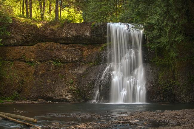 Silver Falls State Park - North Falls HDR